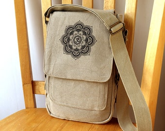 Mandala Tech Bag Small Purse Crossbody Shoulder Bag