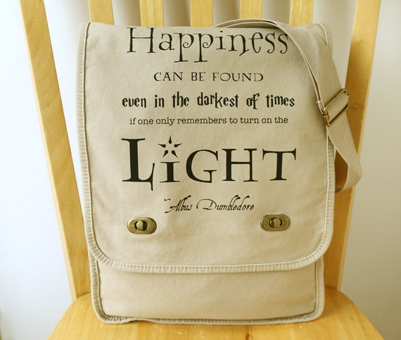 American Quotes Messenger Bag Personalized