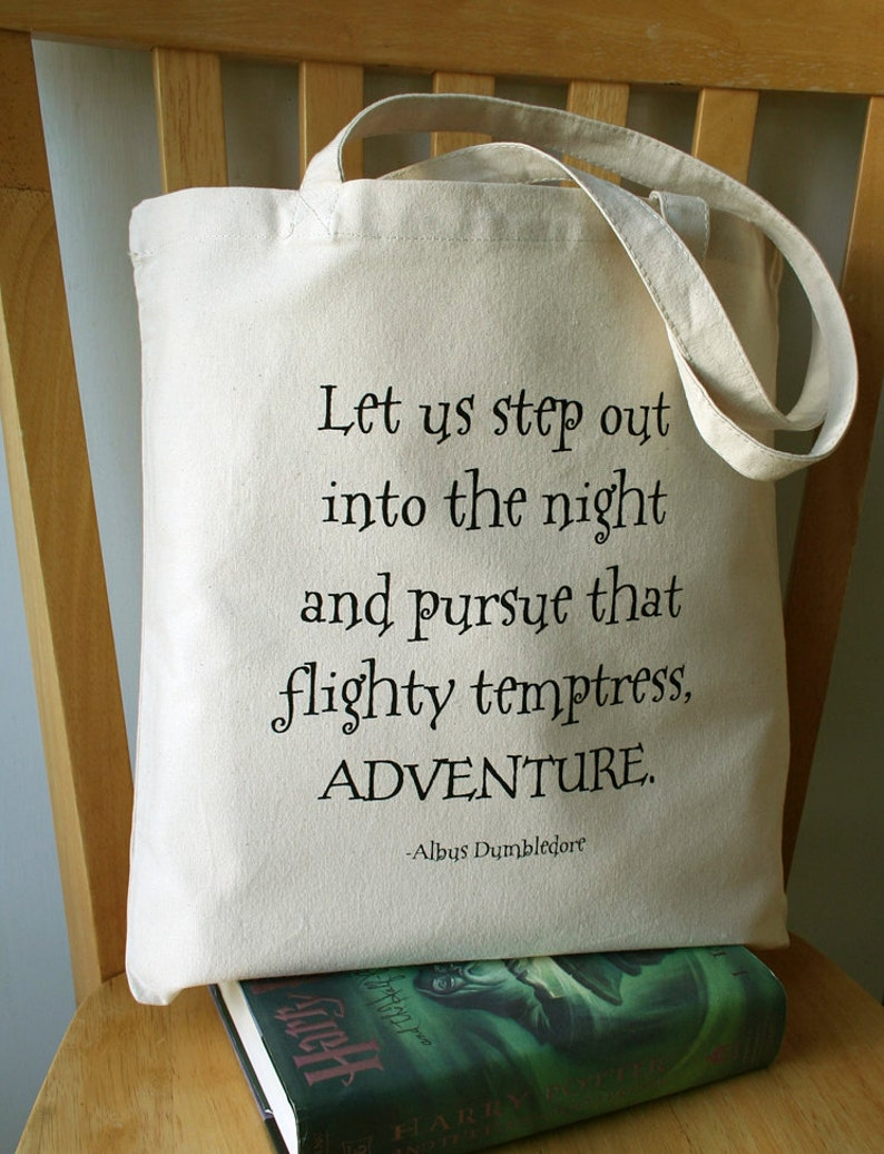 Harry Potter Tote Bag Canvas Book Bag