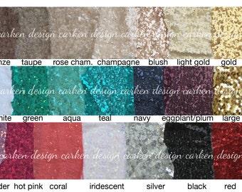 Sequin Yard Bolt Fabric Various Sizes Blue Purple Green Gold Orange Black Silver Pink Blush Rose Turquoise Mint Iridescent