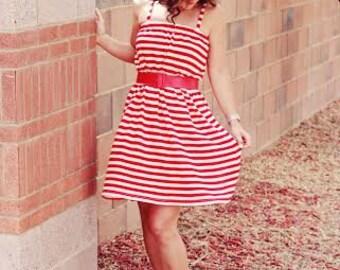 Sundress for Women pdf sewing pattern, sewing pattern, dress sewing pattern, womens sundress pattern, pdf pattern