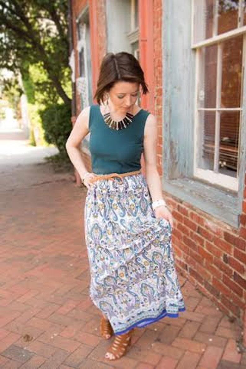16249c78f485 Maxi Dress pattern womans womans maxi dress pdf sewing image 0 ...