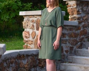 Women's Dolman Dress pdf sewing pattern, sewing pattern for women, dolman dress pdf sewing pattern, dress pdf pattern Seamingly Smitten