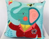 Mr Elephant,  cushion cover