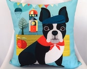 French Bulldog, cushion cover