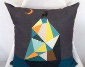 Stag on the hill, cushion cover