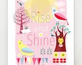 Rise and Shine, Print, DES29