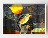 New Zealand, Kakapo, print, NZ77