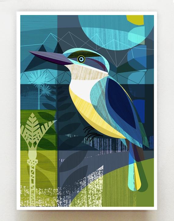 New Zealand Kingfisher, NZA57