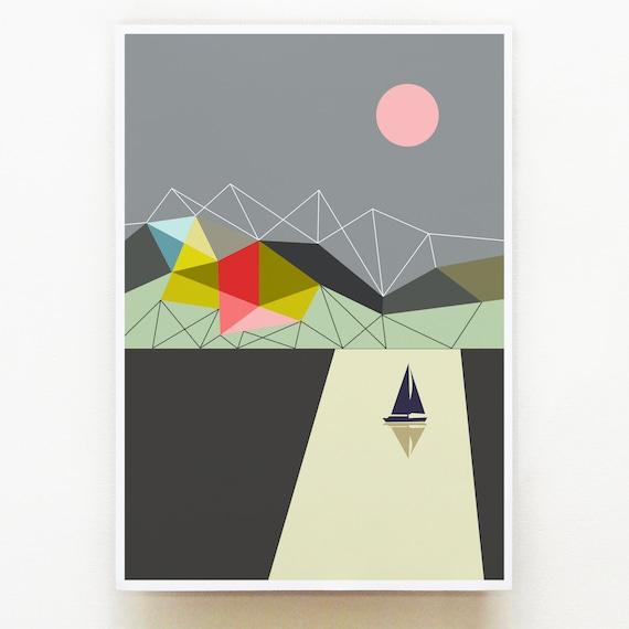 Solitude print, GEO21