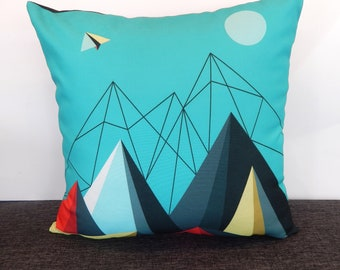 Paper Plane, cushion, cover
