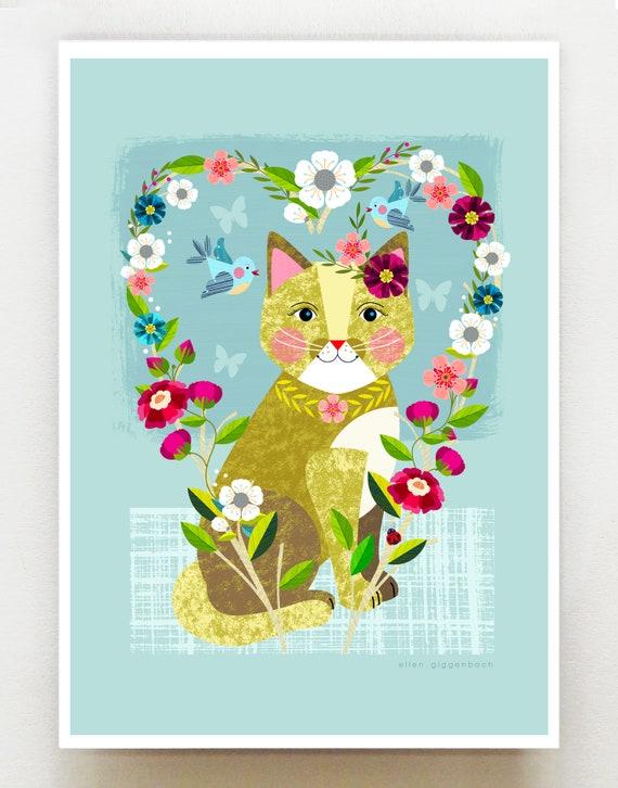 Little Miss Kitty cat, DES30