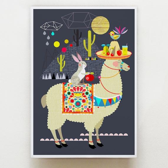 Mr Llama and friends DES2