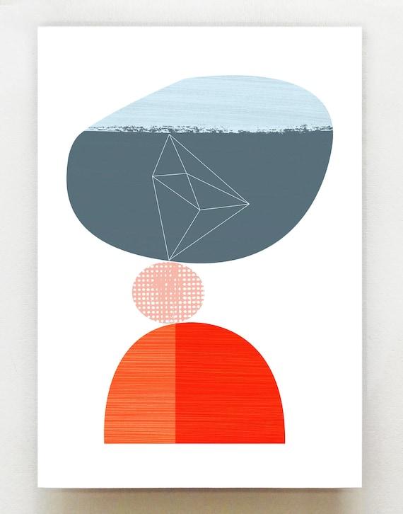 Equilibrium print, GEO40