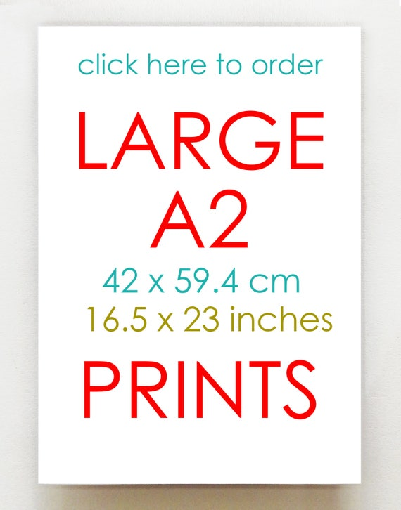 NEW A2 Size Prints