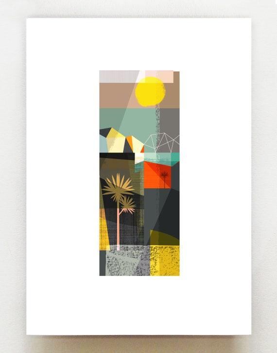 New Zealand Serenity 3, print series, NZA128