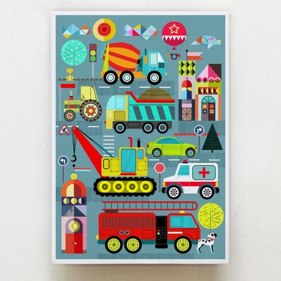 Transportation print, DES22