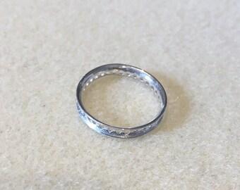 Sterling Silver Circular Bead Frame 20mm