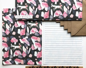 Letter Writing Set - Fox Painted Shapes