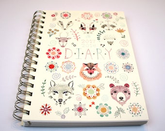 2018 Illustrated Menagerie Diary