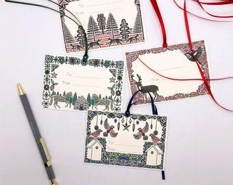 Christmas Gift Tags (Set of 4)