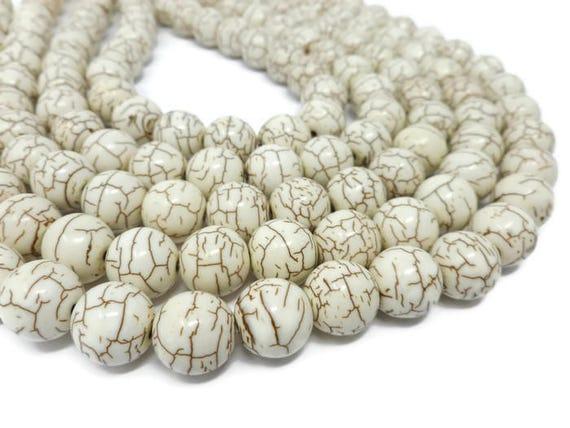 Saucer White Bone Beads 9mm 18 Inch Strand
