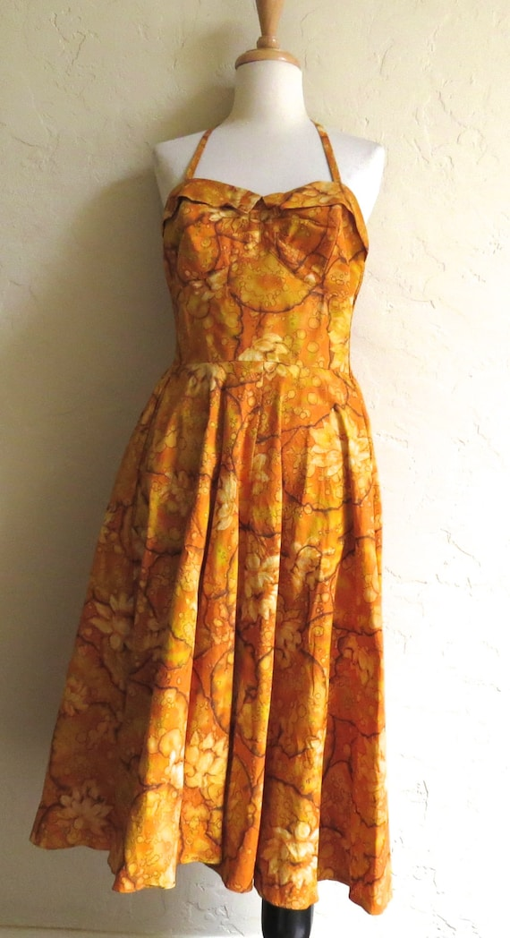 Vintage 50s Maile of Hawaii Bombshell Rockabilly S