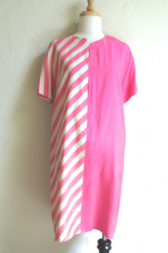Rare Early 1960s Mod Rudi Gernreich Silk Graphic D