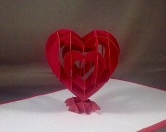 Valentines Pop Up Cards
