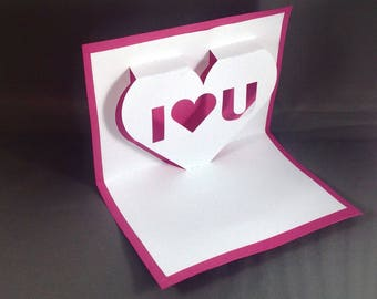 Pop Up Valentines Day Cards for Boyfriend Love Note Funny Valentine Card for Him I Love You Card for Wife Cute Valentine Card for Girlfriend