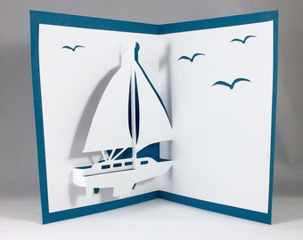 Blank Pop Up Cards