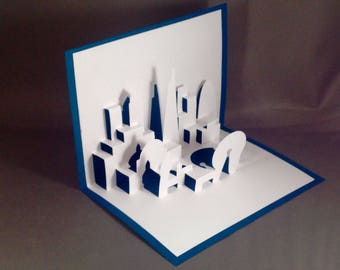 Architecture Pop Up Card