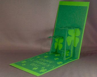 St Patricks Pop Up Cards