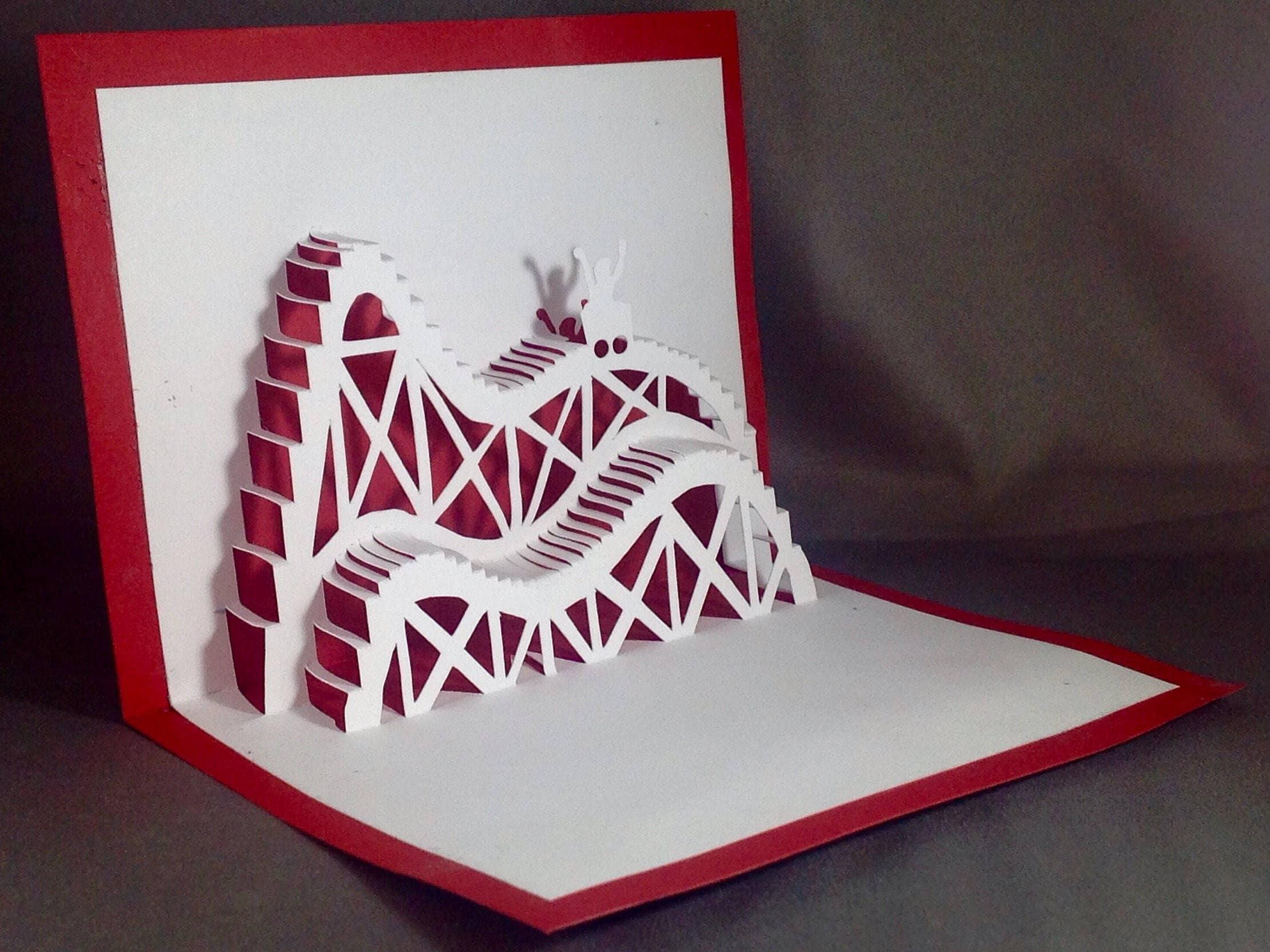 Мастер класс открыток киригами
