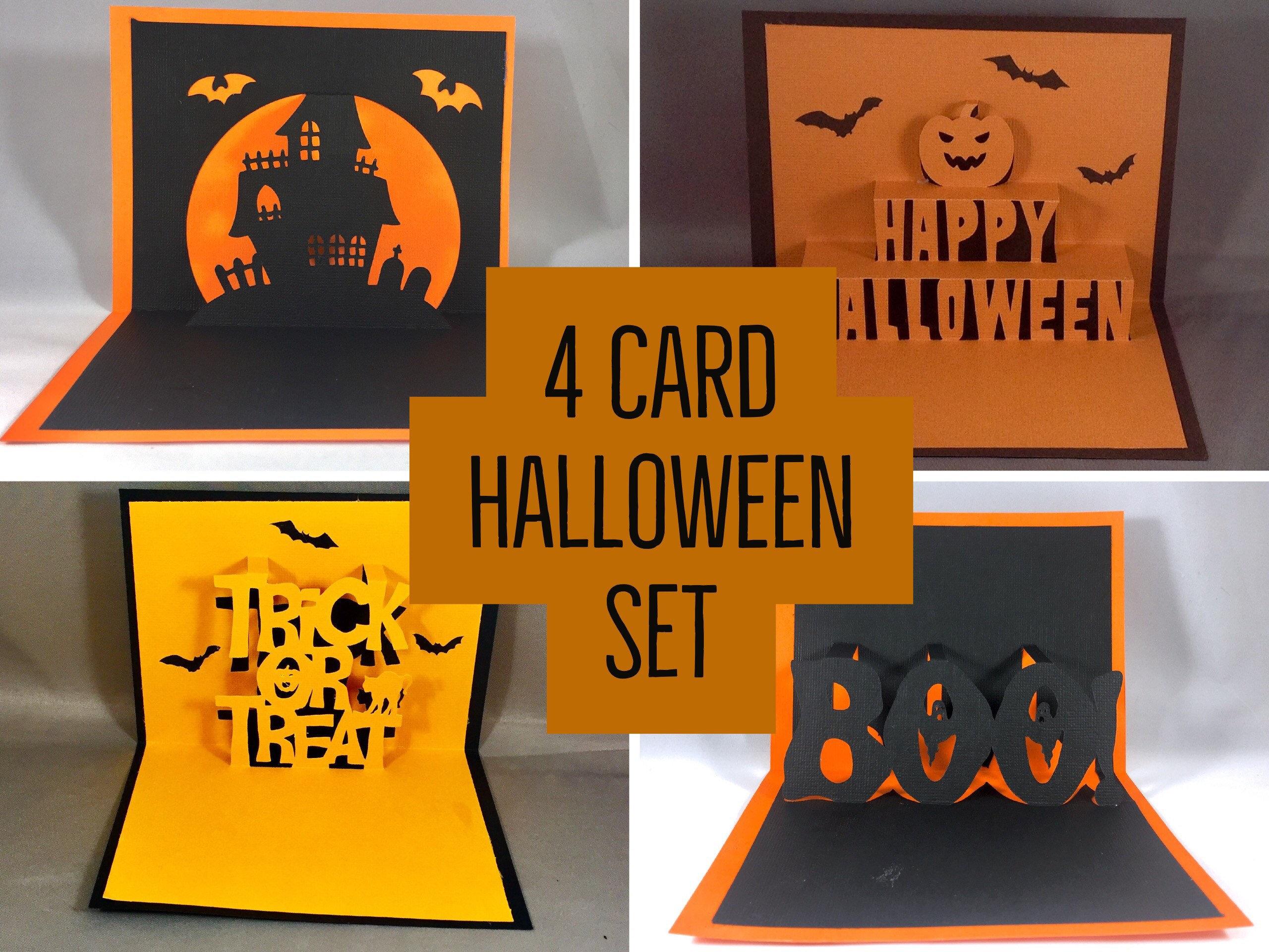 halloween pop up card happy halloween card set handmade halloween cards cute halloween card for kids funny halloween card handmade card