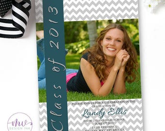 High school graduation invitations Etsy