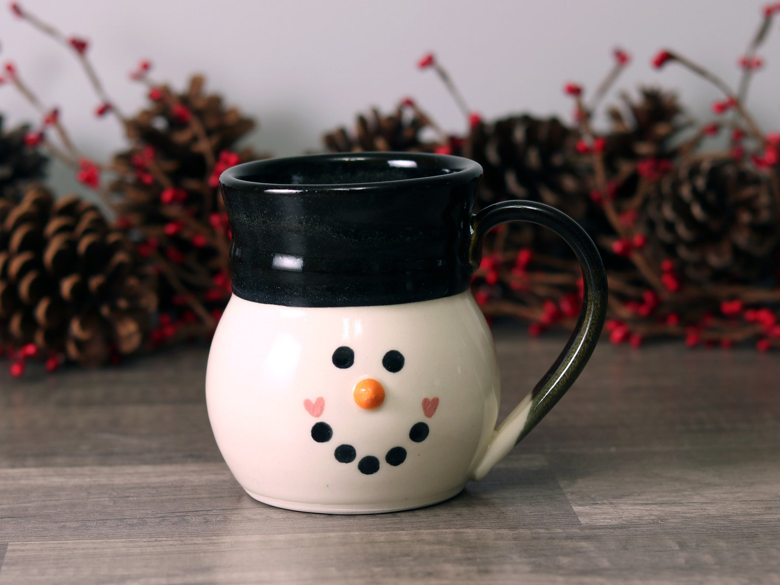 3D Snowman Mugs Page Two