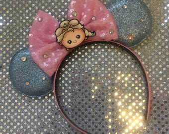 Elsa mouse ears - elsa mickey ears