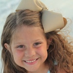 """Basic Bow, 8"""" hair bow, extra large bow -- CHOOSE your color -- basic 8"""" hairbow with many color choices"""