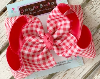 "Hairbows to match Matilda Jane Joanna Brilliant Daydream - Love Letters - choose 4-5"" or 6"" bow"