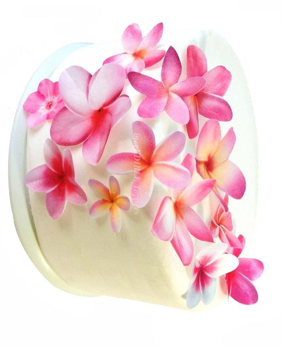 Edible Flower Cake Topper Wedding Baby Shower
