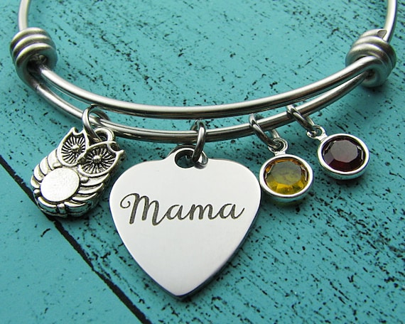 SALE Gift For Mom Bracelet New Of Twin Two Mama