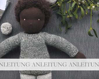 NATURKINDER Raglan Puppen Pullover