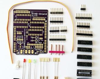 KH 910/950/i+ KH 930/940 AYAB Shield Kit v1.4TH - Brother Knitting Machines alternative Patterncontrol