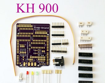 KH 900+965 AYAB Shield Kit v1.4 Th with power connector - Brother knitting machine alternative Patterncontrol