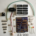 KH 900+965 AYAB Shield Kit v1.4 Th with power connector - Brother Knitting Machine lternative Patterncontrol