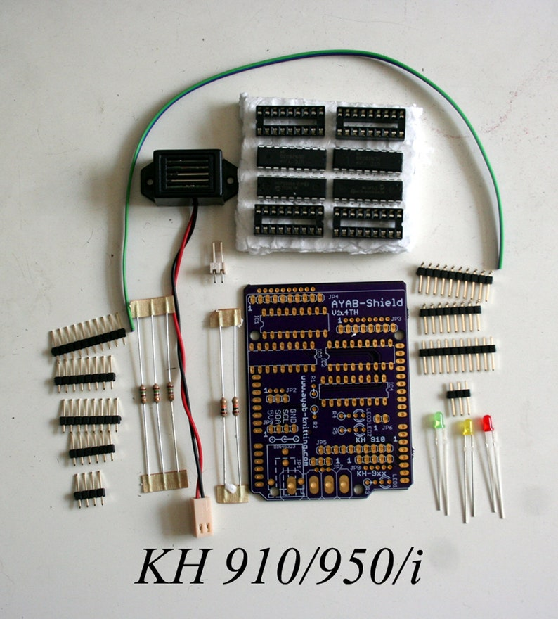 KH 910/950/i KH 930/940 AYAB Shield Kit v1.4TH  Brother image 0