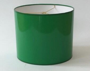 High Gloss Green Lamp Shades