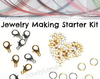 Jewelry Making Starter Kit + Bonus Charms