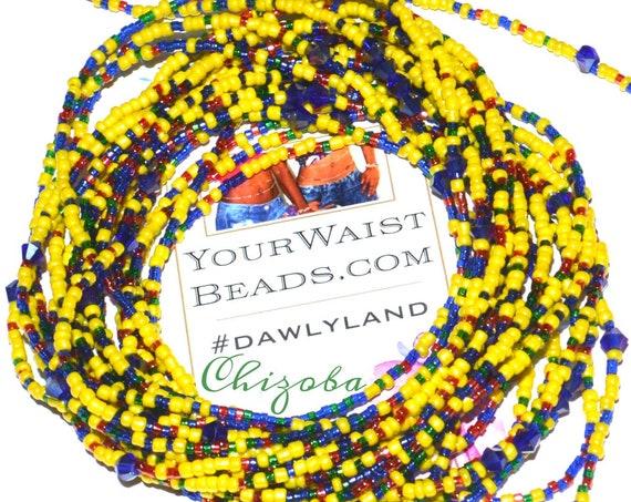 Waist Beads & More ~Chizoba~ Bracelet Anklet or #Beadkini